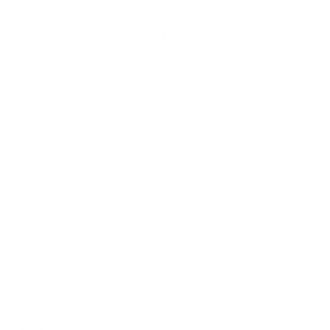 An outline of the American flag in white